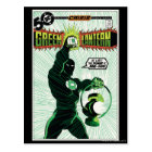 Green Lantern - Glowing Lantern Postcard