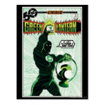 Green Lantern - Glowing Lantern Postcards