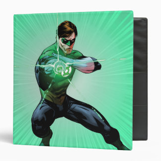 Green Lantern & Glowing Ring 3 Ring Binder