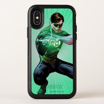 Green Lantern & Glowing Ring OtterBox Symmetry iPhone X Case