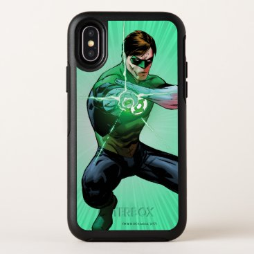 Green Lantern & Glowing Ring OtterBox Symmetry iPhone X Case