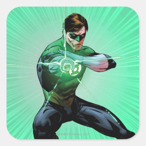 Green Lantern & Glowing Ring Sticker