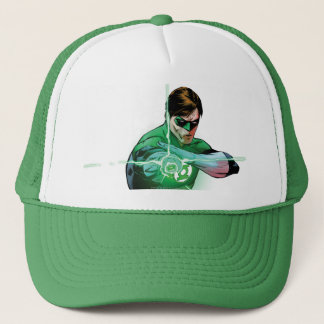 Green Lantern & Glowing Ring Trucker Hat