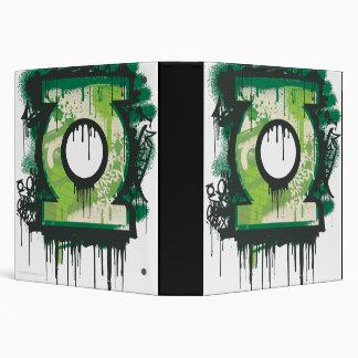 Green Lantern Graffiti Symbol Vinyl Binder