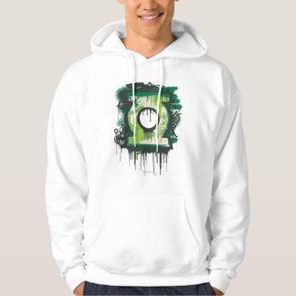 Green Lantern Graffiti Symbol Hoodie