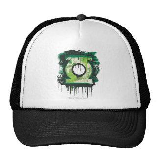 Green Lantern Graffiti Symbol Trucker Hat
