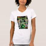 Green Lantern  - Green Shaded Comic Tees
