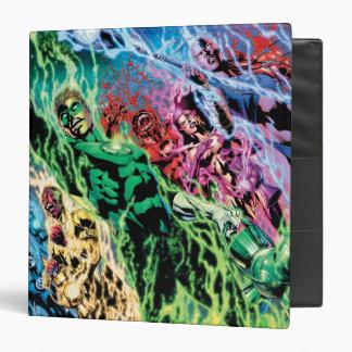 Green Lantern Group - Color 3 Ring Binder