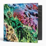 Green Lantern Group - Color Vinyl Binder