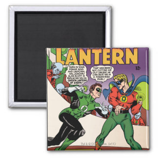 Green Lantern in the ring Magnet