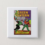 Green Lantern in the ring Pinback Button