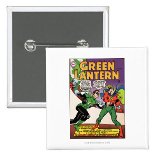 Green Lantern in the ring Pinback Button