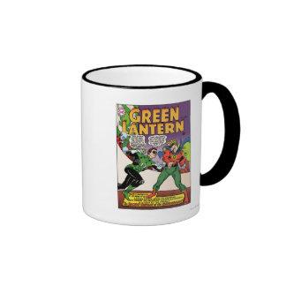 Green Lantern in the ring Ringer Mug