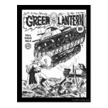 Green Lantern in the trenches, Black and White Post Card