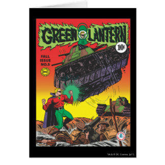 Green Lantern in the trenches Card
