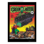 Green Lantern in the trenches Greeting Card