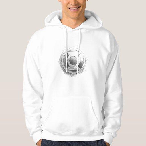 Green Lantern Insignia Hooded Sweatshirt
