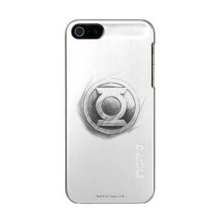 Green Lantern Insignia Metallic iPhone SE/5/5s Case
