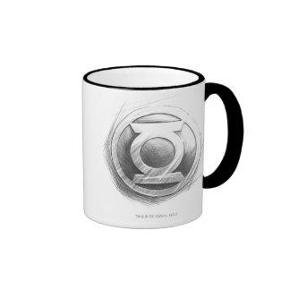 Green Lantern Insignia Mugs