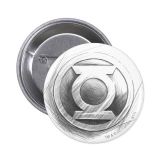 Green Lantern Insignia Pinback Button