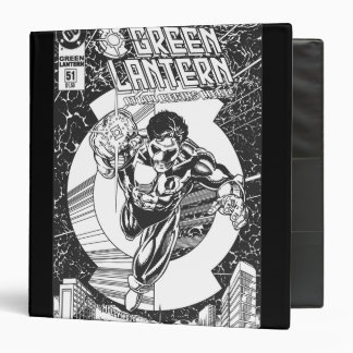 Green Lantern - It all begins here, Black and Whit Binder