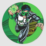 Green Lantern - It all begins here Classic Round Sticker