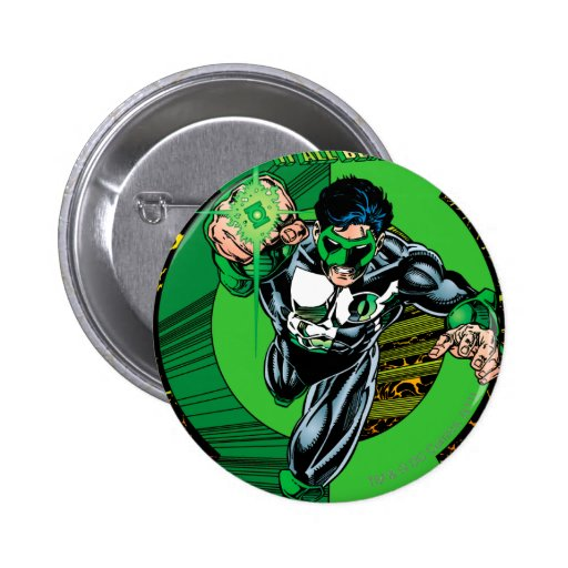 Green Lantern - It all begins here Pinback Button
