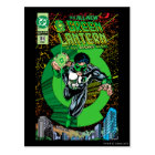 Green Lantern - It all begins here Postcard