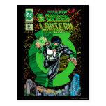Green Lantern - It all begins here Postcard