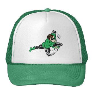 Green Lantern Leap Right Mesh Hat