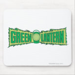 Green Lantern Letters 1 Mouse Pad
