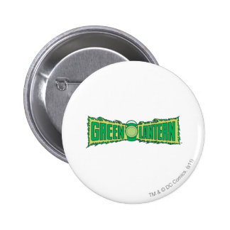 Green Lantern Letters 1 Pinback Button