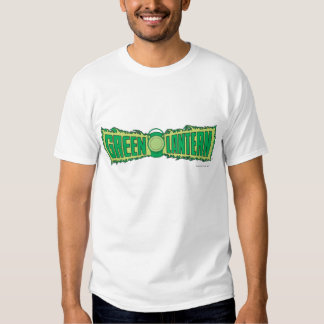 Green Lantern Letters 1 T-shirt