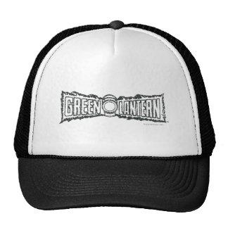 Green Lantern Letters BW Trucker Hat