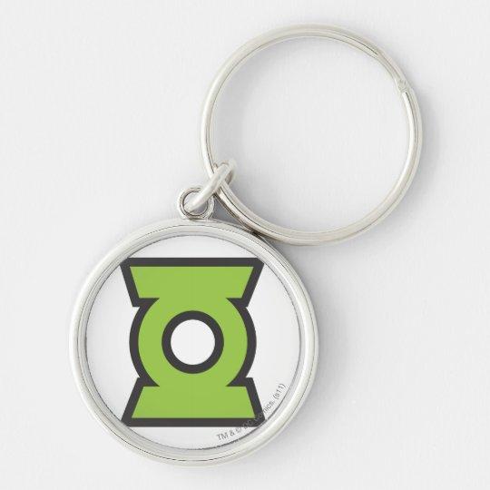 Green Lantern Logo 11 Keychain