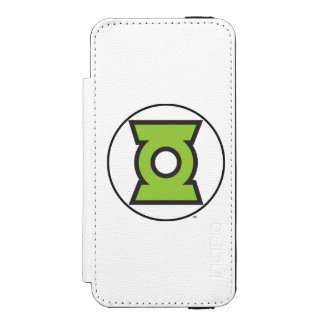 Green Lantern Logo 11 Wallet Case For iPhone SE/5/5s