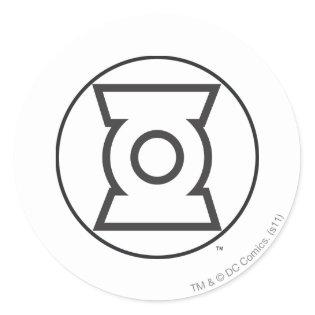 Green Lantern Logo 12 Classic Round Sticker