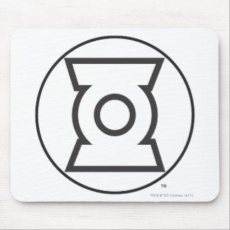 Green Lantern Logo 12 Mouse Pad
