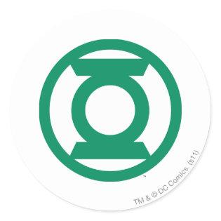 Green Lantern Logo 13 Classic Round Sticker