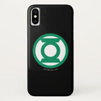 Green Lantern Logo 13 iPhone X Case