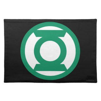 Green Lantern Logo 13 Placemat