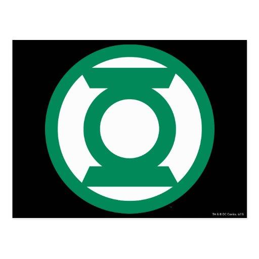 Green Lantern Logo 13 Post Cards