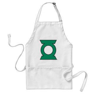 Green Lantern Logo 15 Adult Apron