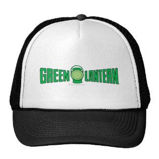 Green Lantern Logo 5 Mesh Hat