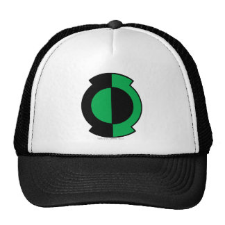 Green Lantern Logo Flipped Mesh Hat