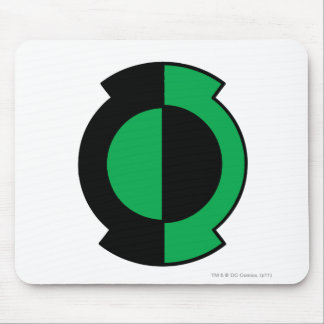 Green Lantern Logo Flipped Mouse Pad