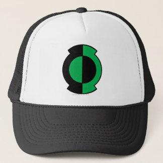 Green Lantern Logo Flipped Trucker Hat