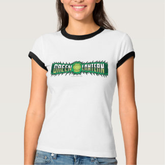 Green Lantern Logo - Green Flames T-Shirt