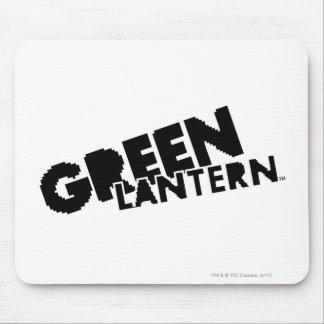 Green Lantern Logo - Pixels Mouse Pad