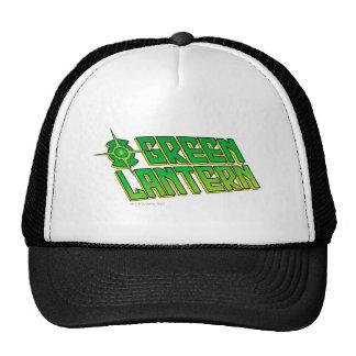Green Lantern Logo - Slanted Trucker Hats